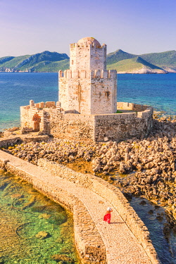 CLKGA122734 The venetian medieval fortress of Methoni, Messenia Region, Peloponnese, Greece