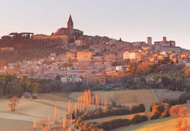 CLKAD125742 Europe, Italy, Umbria, Perugia district. Todi