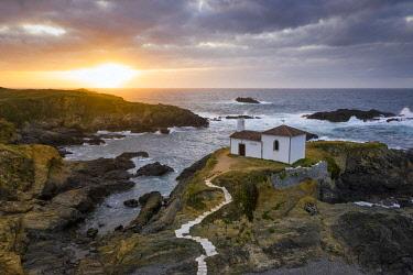 CLKAC128417 Ermita da Vire do Porto, Valdovino, La Coruna, Galicia, Spain