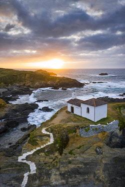 CLKAC128418 Ermita da Vire do Porto, Valdovino, La Coruna, Galicia, Spain