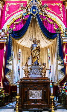 MLT0720 Maltese Islands. Malta. The National feast of St. Joseph in Rabat, which falls each year on the 18th of March.