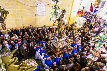MLT0724 Maltese Islands. Malta. The National feast of St. Joseph in Rabat, which falls each year on the 18th of March.