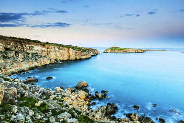 MLT0752 Maltese Islands. Malta. The Cliffs around St. Paul s islands which are synonymous with Apostle s Paul s shipwreck on the island during the Roman Empire rule mentioned in the new testament in the Bible...