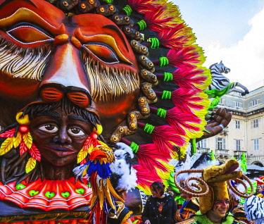 MLT0759 Maltese Islands. Malta. Carnival in the streets of Valletta. Unesco.