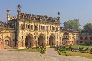 IN505RF Bara Imambara entrance gate, Lucknow, Uttar Pradesh, India