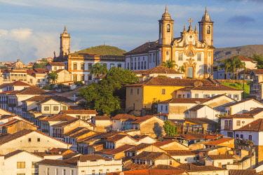 BZ04041 Cityscape, old town, Ouro Preto, Minas Gerais state, Brazil