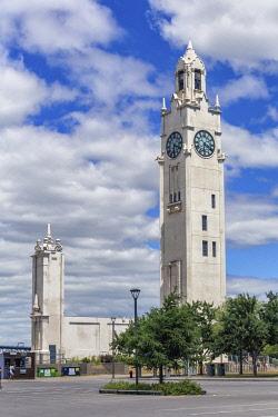CA04339 Tour de l'Horloge, 1922,  Montreal, Quebec, Canada