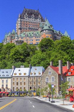 CA04342 Chateau Frontenac, Quebec City, Quebec, Canada