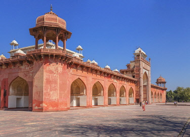 IN08581 Akbar's tomb, 1613, Sikandra, Uttar Pradesh, India
