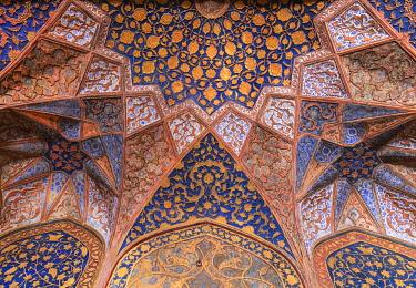 IN08582 Akbar's tomb interior, 1613, Sikandra, Uttar Pradesh, India