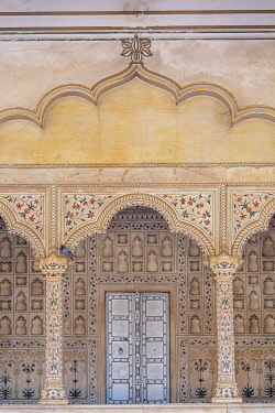 IN08591 Diwan-i-Am, Hall of Public Audience, Agra Fort, Agra, Uttar Pradesh, India