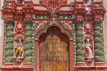 MX01107 Our Lady of Mercy church, 18th century, Atlixco, Puebla, Mexico