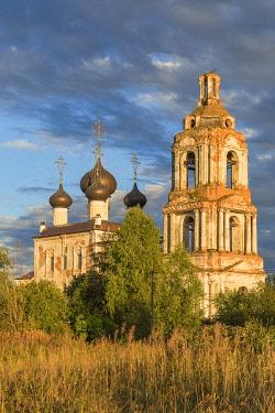 RU04584 Saint Basil the Great church on Yedka, 1721, Kulemesovo, Vologda region, Russia