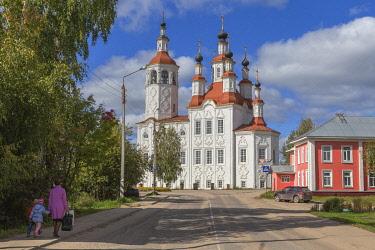 RU04585 Entry to Jerusalem church, 1794, Totma, Vologda region, Russia