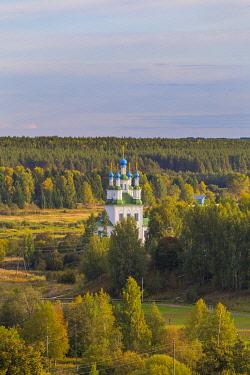 RU04586 Cityscape, Totma, Vologda region, Russia