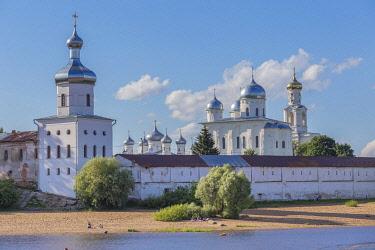 RU04592 Yuriev monastery, Volkhov river, Veliky Novgorod, Russia