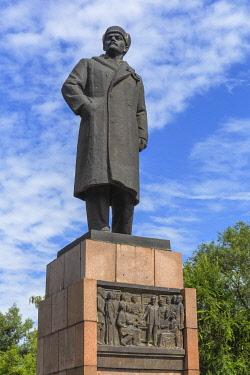 RU04611 Lenin monument, 1987, Minusinsk, Krasnoyarsk Krai, Russia
