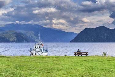 RU04620 Teletskoye lake, Yaylyu village, Altay Republic, Russia