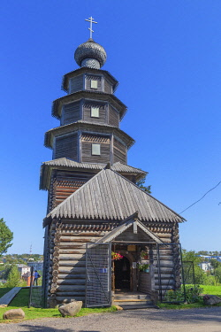RU04623 Our Lady of Tikhvin wooden church, 1717, Torzhok, Tver region, Russia
