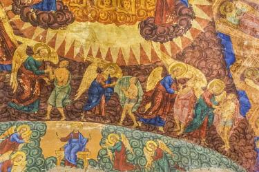 RU04631 St John the Theologian church interior, fresco, Kostroma, Kostroma region, Russia