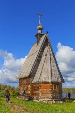 RU04637 Wooden Resurrection church, 1699, Plyos, Ivanovo region, Russia
