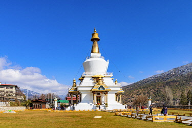 National Memorial Chhorten, Thimphu, Bhutan.