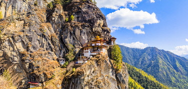 BHU1984AW Paro Taktsang (Tiger's Nest), Paro District, Bhutan