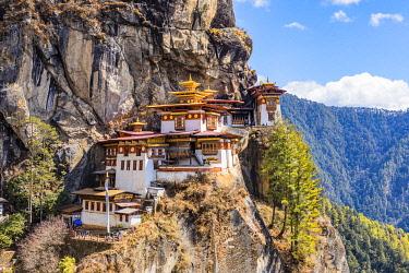BHU1985AW Paro Taktsang (Tiger's Nest), Paro District, Bhutan