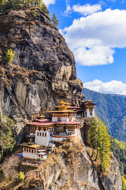 BHU1987AW Paro Taktsang (Tiger's Nest), Paro District, Bhutan