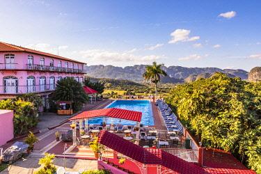 CUB2570AW Hotel Horizontes Los Jazmines overlooking Vinales Valley, Pinar del Rio Province, Cuba