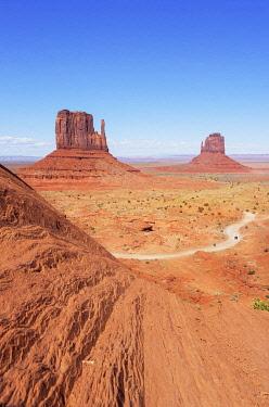 USA15546AWRF Monument Valley, Arizona, USA,