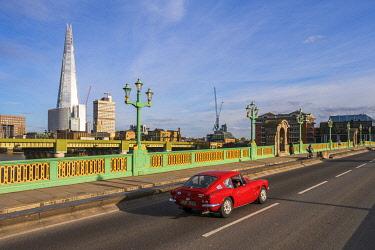 ENG17030AW Soutwark Bridge and the Shard, London, England, UK