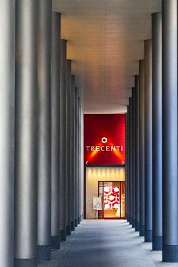 JAP2940 Entrance to the Trecenti shop, Shijodori, Daigocho, Kyoto, Kyoto Fu, Honshu, Japan.
