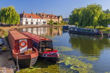 UK08903 UK, England, Cambridgeshire, Ely, River Great Ouse