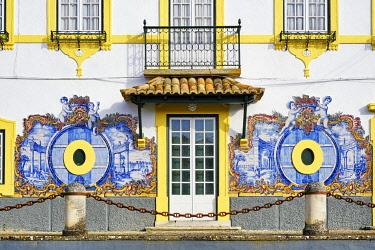 POR10967AW The house of Jose Maria da Fonseca, the famous wine producer since 1834, at Vila Nogueira de Azeitao. Setubal, Portugal