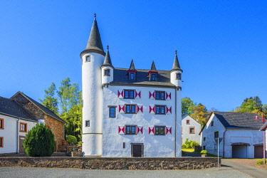 GER12109AW Dreis castle, Eifel, Rhineland-Palatinate, Germany