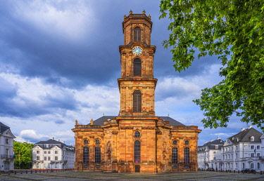 GER12184AW Ludwigs church, Saarbrucken, Saarland, Germany