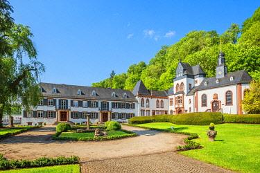 GER12225AW Dagstuhl castle at Wadern, Saarland, Germany