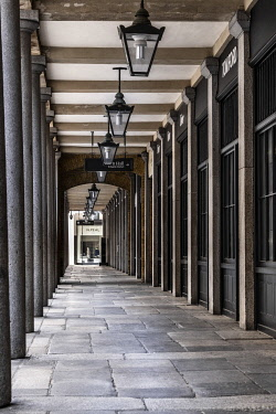 United Kingdom, England, London, Westminster, Covent Garden. The outer concourse of Covent Garden Market