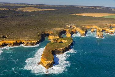 CLKNO131309 Mutton Bird Island, Twelve Apostles Marine National Park near Port Campbell, Great Ocean Road, Victoria, Australia