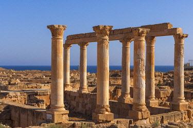 CLKSP132908 Sabratha Roman site, Tripolitania, Libya.