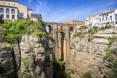 "CLKST131423 The village of Ronda, one of the most famous ""white villages"" of Andalusia, Spain."