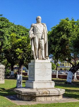 JAM0129AW Sir Charles Theophilus Metcalf Statue, Saint William Grant Park, Downtown, Kingston, Kingston Parish, Jamaica