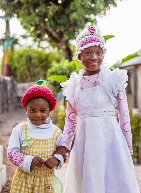 JAM0221AW Rasta Kids at Rastafarian Community, Blue Mountains, Saint Andrew Parish, Jamaica
