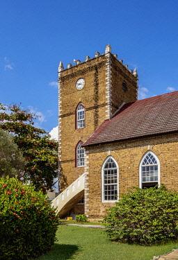 JAM0351AW Anglican Parish Church, Black River, Saint Elizabeth Parish, Jamaica