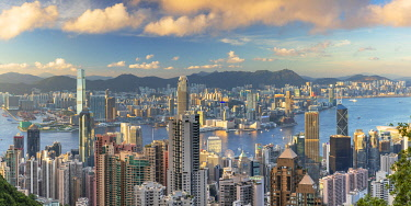 CH12462AW Skyline of Hong Kong Island and Kowloon, Hong Kong
