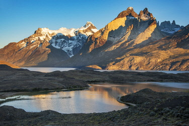 CHI11282AW South America, Chile, Andes, Patagonia, Torres del Paine, UNESCO World Heritage, National Park