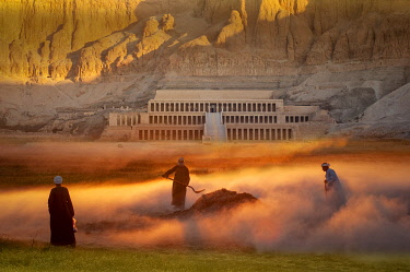 EGY1826AW Temple of Hatshepsut, Archaeological Sites, West Bank, Thebes West, Luxor, Egypt (m)