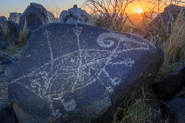 USA15618AW Three Rivers Petroglyph Site, BLM, New Mexico,USA