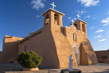 USA15621AW USA; New Mexico; Rancho de Taos; San Francisco De Asis; Church;